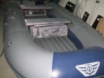 Накладки на банки с сумкой для лодки Флагман 400,420,450,380K