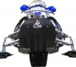 Защита днища снегохода Yamaha Nytro 08-14 (черн) YFP650-BK