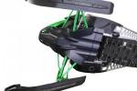 Защита днища снегохода Polaris 11-14 RMK / Assault (чёрн) Skinz Gear PFP300-BK