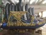 Тент транcформер комби для лодки Ривьера 3400 СК