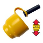 Элементы E-Z крепления шнека к моторной головке Jiffy