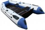 "Лодка ПВХ Англер Angler AN 300 XL (Транец: ""Крыло чайки"")"