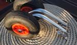 Транцевые колеса для лодки РИБ (Откидные)