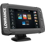 Эхолот картплоттер Lowrance Elite 7TI Mid High Totalscan