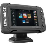 Эхолот картплоттер Lowrance Elite 5TI MID HIGH TOTALSCAN