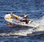Лодка ПВХ Badger Fishing Line FLA390 AD