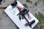 Лодочный электромотор WaterSnake T24FW черный