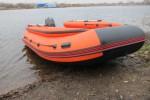 Лодка ПВХ Риф Reef Тритон 420F НДНД Новый интерцептор Тритон+Крыло чайки. Подрывные клапана.