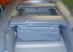 (Комплект) Мягкие накладки на банку с сумкой для лодки Reef 350Skat,370Skat,390Skat,Triron 390, Triron 420 НД 115х25 см