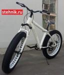 Велосипед Фэтбайк Okkervil GH-14702 (белый/черный)