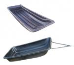 Сани волокуши 2650 с накладками для снегохода+дышло и демпфер