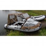 Тент трансформер комби для лодки RiverBoat РиверБот 370,390