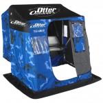 Тент-палатка на сани Medium Otter Sled (200819) ice camo (2235)