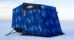 Утепленная тент-палатка на сани Large Otter Sled (200821) (2456) Трехместная