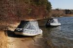 Тент трансформер КАБРИОЛЕТ для лодки ПВХ Solar Солар 380 (Оптима,Максима,Jet Tunnel)
