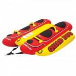 Надувной банан AirHead HOT DOG 4 (QUAD DOG 4) HD-4