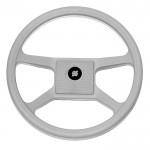 Рулевое колесо(штурвал) ULTRAFLEX V.33G серое 342 мм