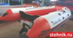 "Лодка ПВХ Риф Reef Тритон 340 НДНД (Новый Интерцептор:""Тритон""+""Крыло Чайки"""