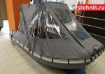 Тент транcформер Кабриолет на лодку ПВХ Адмирал 375,380