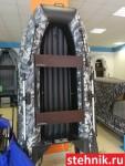 Надувная лодка ПВХ Адмирал АМ 290 НДНД Цвет: Камуфляж Серый