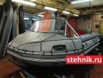 Носовой тент №3 на лодку ПВХ Reef Риф Тритон Скат 350,370,400