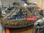 Тент транcформер КАБРИОЛЕТ для лодки ПВХ Reef РИФ 335,340,350,360
