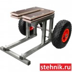 Разборная тележка для лодочного мотора (ПЛМ) 4-6 л.с.