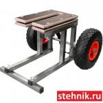 Разборная тележка для лодочного мотора (ПЛМ) 25-30 л.с.