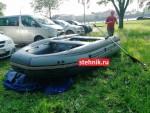 Лодка ПВХ Риф Тритон Скат 400Fi НДНД (Интегрированные фальшборта)