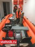 Лодка ПВХ Риф Reef Тритон 420F НДНД Новый интерцептор Тритон+Крыло чайки.