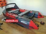 Лодка ПВХ Риф Reef Тритон 350 Skat НДНД (деревянный транец)