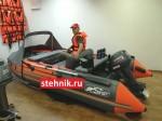 Лодка ПВХ Риф Reef Тритон 370 Skat НДНД (деревянный транец)