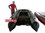 Лодка ПВХ Риф Reef 420F Jet (С фальшбортом, под Водомет)