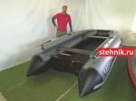 Лодка ПВХ Риф Reef 390F НДНД Jet (С фальшбортом, под Водомет)