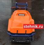 Мотобуксировщик Барс Следопыт М 16 E (Катки) + Электростартер