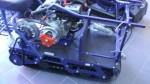 Мотобуксировщик Барс Партизан R7F R-Двигатель MTR 7л.с.,F-Трансмиссия.Вариатор Форвард,Катковая подвеска,Гусеница с низким протектором