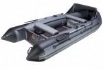 Надувная лодка ПВХ Адмирал AM-375 Sport Lux (в комплекте носовой тент+накладки и сумка)