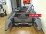 Лодка ПВХ Риф Тритон Скат 390 НДНД (пластиковый транец)