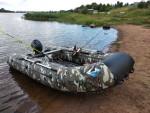 Надувная лодка ПВХ Orca Орка 340 НДНД Камуфляж