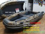 Лодка ПВХ Риф Тритон Скат 390 НДНД (пластиковый транец) КАМУФЛЯЖ