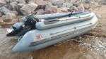 Лодка ПВХ X-River Rocky 375FB НДВД С фальшбортами