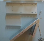 Платформа (НЕРЖ.СТАЛЬ) для установки электрической якорной лебедки для надувной лодки и РИБ