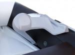 Рулевая консоль мини (пластиковая) для лодок ПВХ без фальшбортов