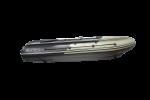 Лодка ПВХ Reef Triton 400 S-MAX НДНД Интегрированный фальшборт, длинный кокпит 3.3 м, тримаран, морской киль, деревянный транец