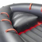 Универсальное носовое сиденье в лодку Badger Air Line 360,390,420 (61х47х22 см)