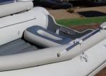 Надувное сиденье ОВАЛ №4 для лодки Badger Air Line 390,420 (95х45х22 см)