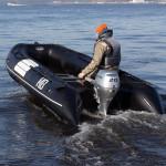 Лодка ПВХ Badger Heavy Duty HD370 AL Баллоны 55 см, Кокпит 90 см, Морской киль, Пластиковый транец, Усиленное дно, Алюминиевый пол