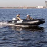 Лодка ПВХ Badger Heavy Duty HD390 AL Баллоны 55 см, Кокпит 90 см, Морской киль, Пластиковый транец, Усиленное дно, Алюминиевый пол