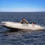 Лодка ПВХ Badger Heavy Duty HD470 AL Баллоны 55 см, Кокпит 90 см, Морской киль, Пластиковый транец, Усиленное дно, Алюминиевый пол