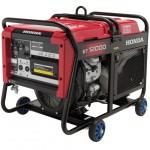 Бензиновый генератор Honda ET12000 K1 RG (электростанция 3-фазная) / бензогенератор